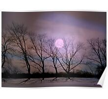 Bare souls under moonlight Poster