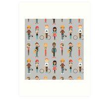 The Cool Kids Art Print