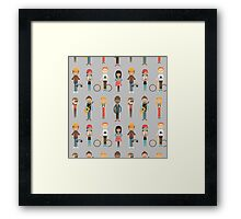 The Cool Kids Framed Print