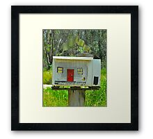 Little House Box # 10 Framed Print
