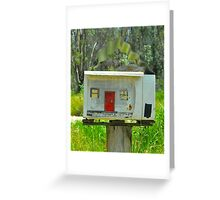 Little House Box # 10 Greeting Card