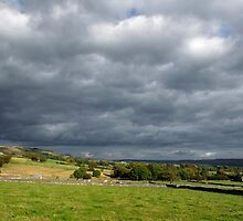 Storm Clouds, East of Monsal Head by Rod Johnson