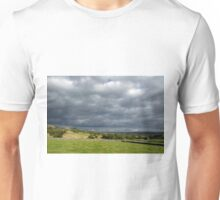 Storm Clouds, East of Monsal Head Unisex T-Shirt