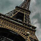 Paris, Eiffel tower by David Petranker