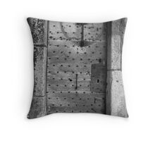 french door  Throw Pillow
