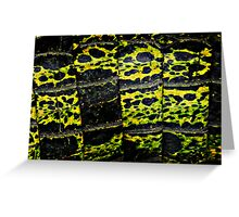 slimy scales Greeting Card