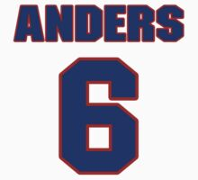 National Hockey player Anders Eriksson jersey 6 by imsport