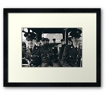 Transport Police Framed Print
