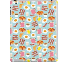 Breakfast Fun Pattern iPad Case/Skin