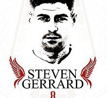 Steven Gerrard by dawidtur