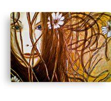 Wild Girl Canvas Print