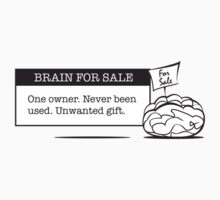 Brain for sale by Sophie Pearson