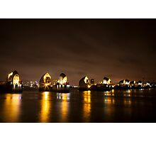 Thames Barrier Photographic Print