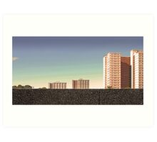Housing Commission: Collingwood Art Print