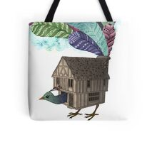 the birdhouse revisited  Tote Bag
