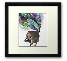 the birdhouse revisited  Framed Print