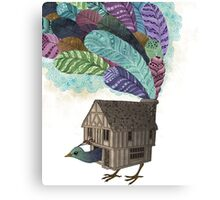 the birdhouse revisited  Canvas Print