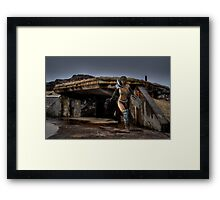 The Bunker - Rose & Kevin Kroeker Framed Print
