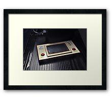 Game & Watch - Octopus (1981) Framed Print