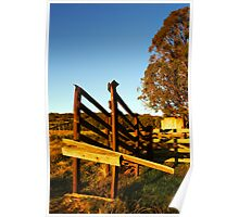 Stock Ramp - Beechworth Poster