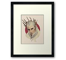 Thranduil, King of Mirkwood Framed Print