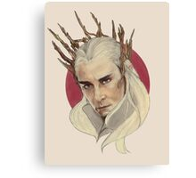 Thranduil, King of Mirkwood Canvas Print