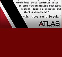 Atlas - Irons' speech on democracy by Kamunja