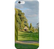 Gardens At Chirk Castle iPhone Case/Skin