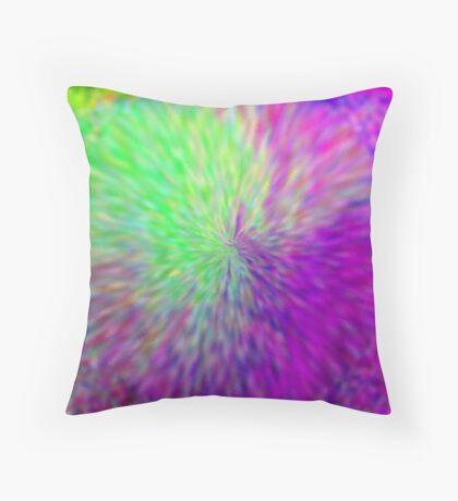 water flower 3 Throw Pillow
