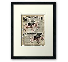 Vintage Victorian Print #1 Framed Print