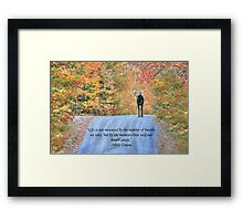 Moments That Take Our Breath Away - Quote Framed Print
