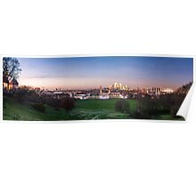 The View from Greenwich Park Poster