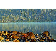 Early morning Lake ST Claire Tasmania Photographic Print
