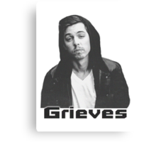 Grieves Print Canvas Print