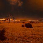 Landscape Aflame by Sadandal