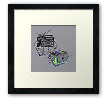 Revenge of the Radio star Framed Print