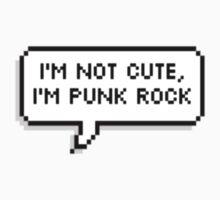 I'm Not Cute, I'm Punk Rock Kids Clothes