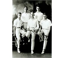 1921 Tennis Team Photographic Print