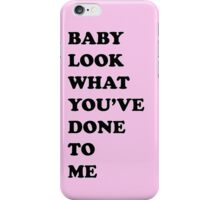 One Direction Stockholm Syndrome / pink iPhone Case/Skin