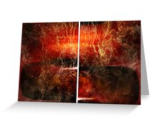 Opium (diptych) Greeting Card