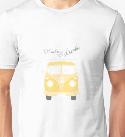 Colorful Samba van retro illustration Unisex T-Shirt