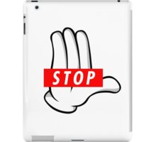 STOP ! iPad Case/Skin