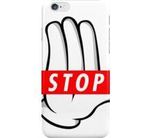 STOP ! iPhone Case/Skin