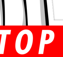STOP ! Sticker