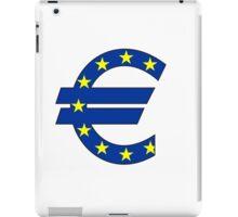 euro symbol iPad Case/Skin