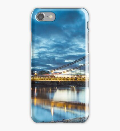 Hammersmith Bridge London iPhone Case/Skin