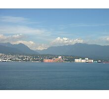 Departing from Vancouver Photographic Print