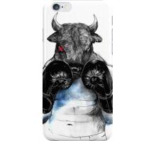 The eye of the Raging Bull iPhone Case/Skin