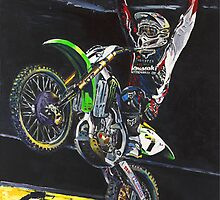 James Stewart 2007 Supercross Champion by robkinseyart