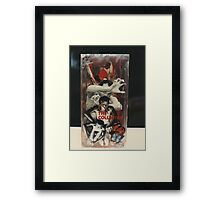"""The Collector""1985 Front Framed Print"